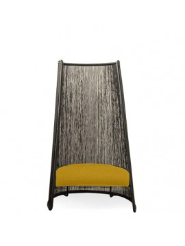 Poltrona Moroso M'afrique Husk XL design Mark Thorpe