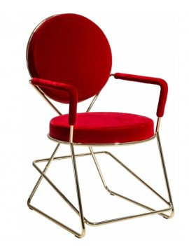Chair with armrest Moroso Double Zero design David Adjaye