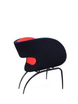 Chair / Small armchair Moroso Victoria and Albert Watergate design Ron Arad