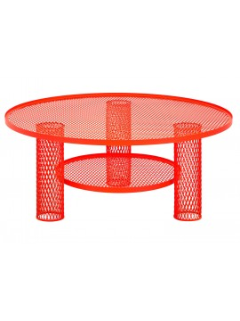 Coffee table Moroso Net Table design Benjamin Hubert