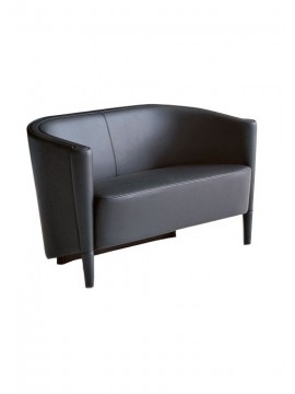 Sofa 2 seater with cushion Moroso Rich Cushion design Antonio Citterio