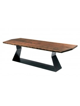 Table Riva 1920 Bedrock Plank A design Terry Dwan