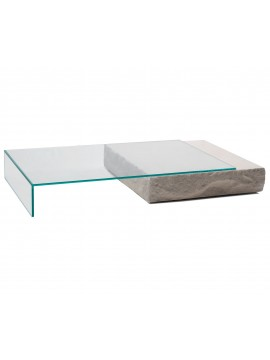 Coffee table Glas Italia Terraliquida design Claudio Silvestrin