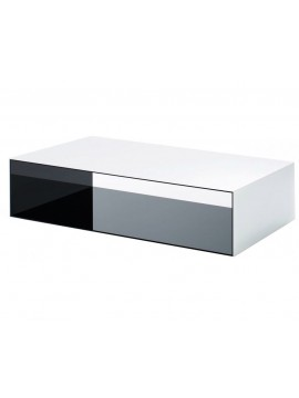 Coffee table Glas Italia Sio2 Tunnel design Piero Lissoni - Marc Krusin - Carlo Tamborini