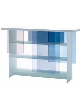 Bookshelves Glas Italia Layers design Nendo
