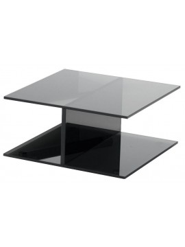 Coffee table Glas Italia I-Beam design Jean-Marie Massaud