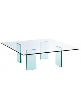 Coffee table Glas Italia Glass Table (1976) design Shiro Kuramata
