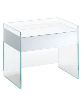 Bedside table Glas Italia Float FLO02-FLO07 design Patrick Norguet