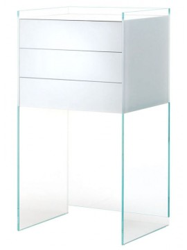 Chest of drawers Glas Italia Float FLO04 design Patrick Norguet