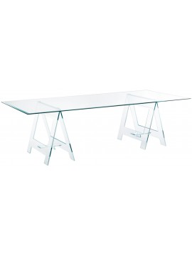 Table Glas Italia Don Cavalletto design Jean-Marie Massaud