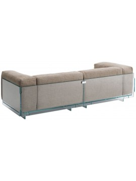 Sofa Glas Italia Crystal Lounge CRP06 design Jean-Marie Massaud