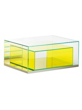 Coffee table Glas Italia Boxinbox BIB04 design Philippe Starck
