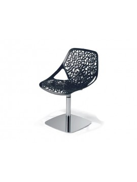 Swivel chair Casprini Caprice colonna design Marcello Ziliani