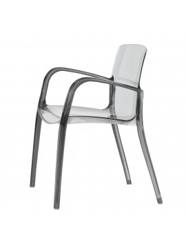 No.02 Chair with armrest Casprini Tiffany design Marcello Ziliani