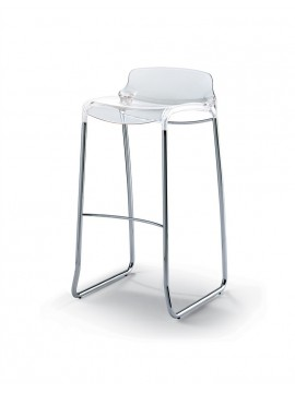 No.04 Bar stool Casprini Tiffany sgabello 75 o 89 design Marcello Ziliani