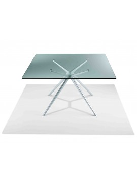 Table glass Casprini EX design JORGE PENSI