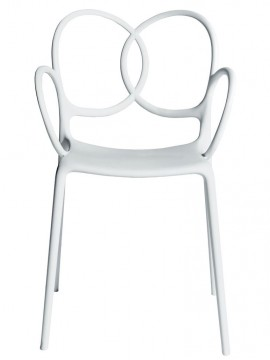 Chair with armrests Driade Sissi design Ludovica + Roberto Palomba