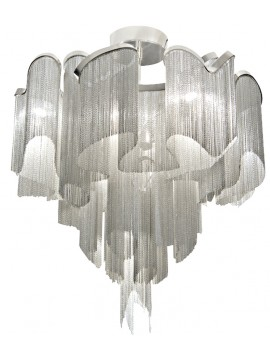 Ceiling lamp Terzani Stream design Christian Lava