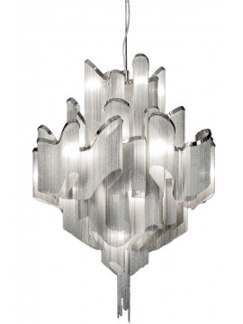 Lampe suspension Terzani Stream design Christian Lava