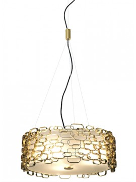 Lampe suspension Terzani Glamour design Dodo Arslan